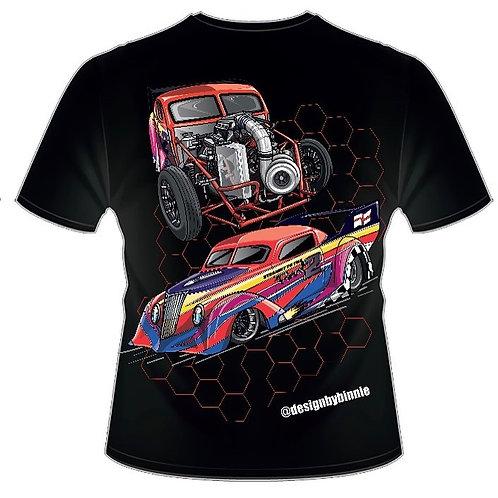 37 Ford Drag Car T-Shirt