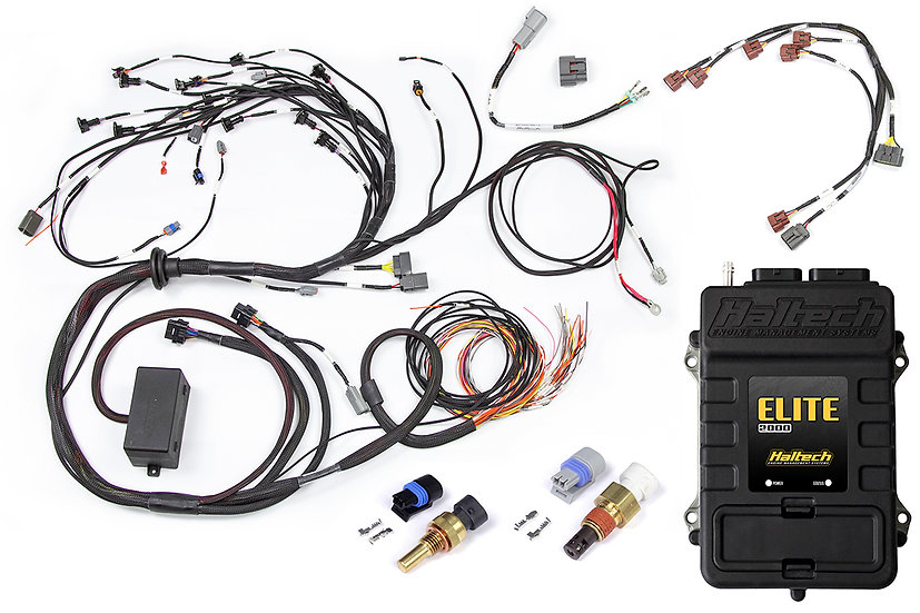 Elite 2000 + Terminated Harness for Nissan RB Engines (no ignition sub-harness)