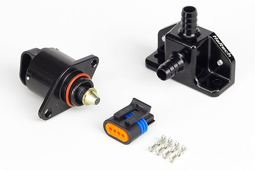 Haltech Idle Air Control Kit - Billet 2 Port Housing With 2 Screw Style Motor