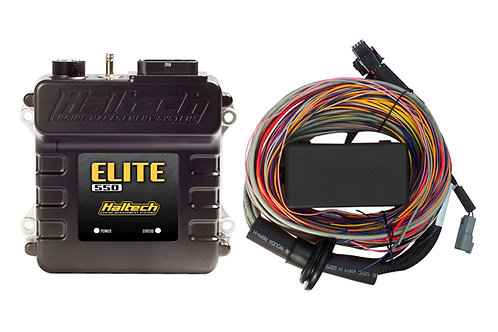 Haltech Elite 550 + Premium Universal Wire-in Harness Kit LENGTH: 5.0m (16')