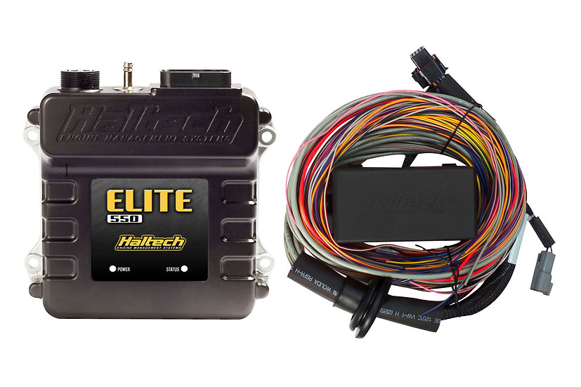 Haltech Elite 550 + Premium Universal Wire-in Harness Kit LENGTH: 5.0m (16')