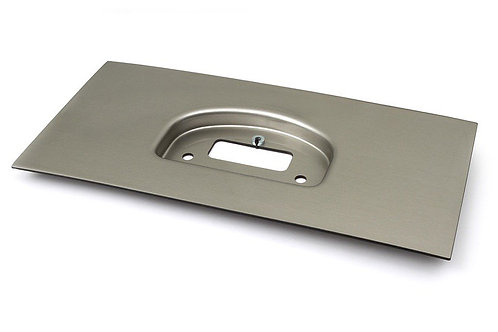 Haltech IQ3 Dash Moulded Panel Mount Brushed Silver