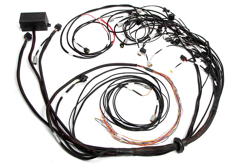Haltech Elite 2500 Terminated Engine Harness For Ford Falcon FG Barra 4.0L I6