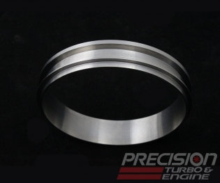 """Precision Turbo and Engine 5 1/4"""" Turbine Discharge Flange for Large Frame Turbo"""