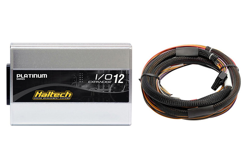 Haltech IO 12 Expander- 12 Channel with Flying Lead Harness Kit (CAN ID - Box B)