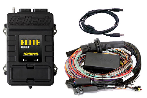 Haltech Elite 1000 + Premium Universal Wire-in Harness Kit LENGTH: 2.5m (8')