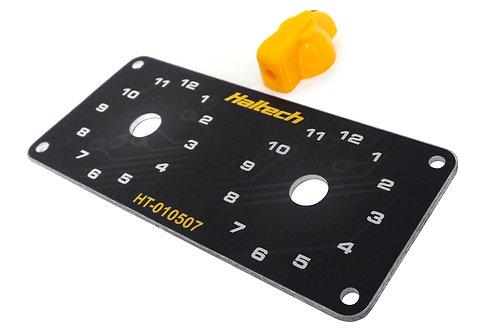 Haltech Dual Switch Panel Kit
