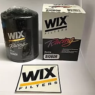 Small Block Chevy Big Block WIX Oil Filter, Racing, 13/16-16 in.