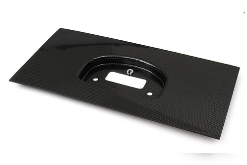 Haltech IQ3 Dash Moulded Panel Mount Faux Carbon Fibre Look