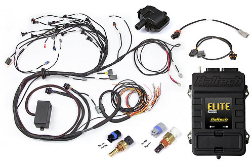 Elite 2000 + Terminated Harness Kit for Nissan RB30 Single Cam with LS1 Ignition