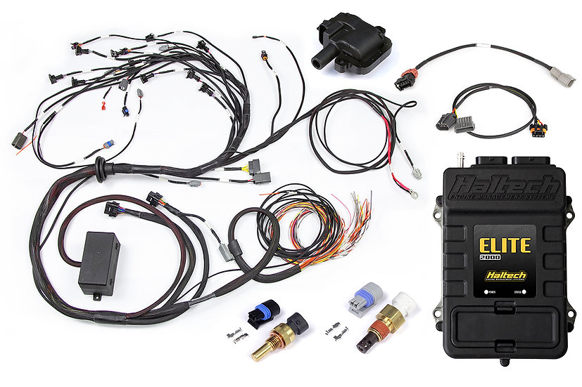 Elite 2500 + Terminated Harness Kit for Nissan RB30 Single Cam with LS1 Coil