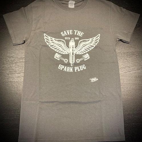 STTP Racing Save The Spark Plug T-Shirt