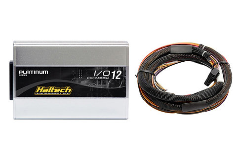 Haltech IO 12 Expander- 12 Channel with Flying Lead Harness Kit (CAN ID - Box A)