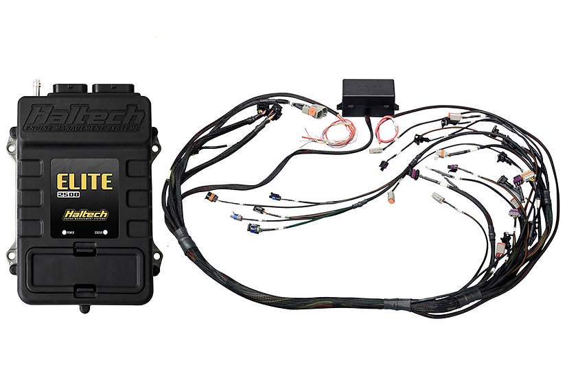 Haltech Elite 2500 T+ GM GEN IV LSx(LS2/LS3etc) DBW Ready Terminated Harness Kit