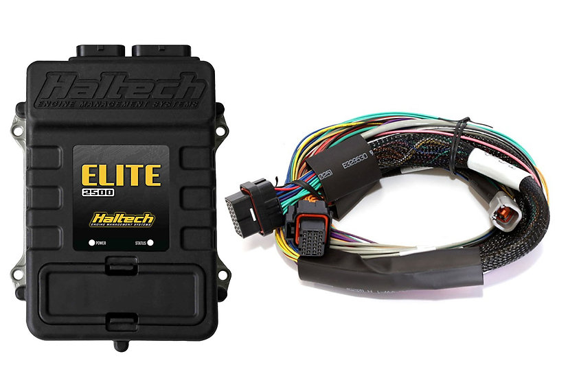Haltech Elite 2500 + Basic Universal Wire-in Harness Kit LENGTH: 2.5m (8')