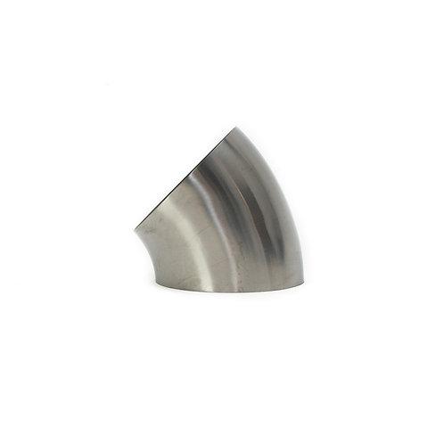 """45° Titanium Elbow 63,5 mm (2.5"""")"""