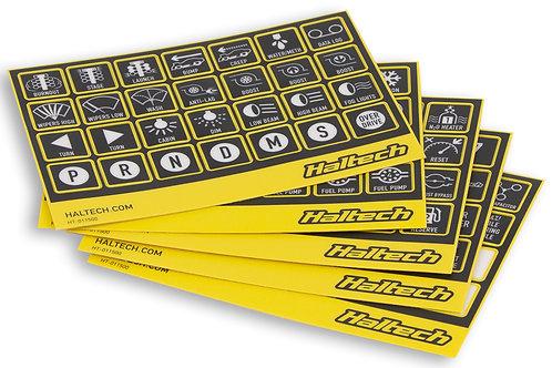 CAN Keypad Label Set