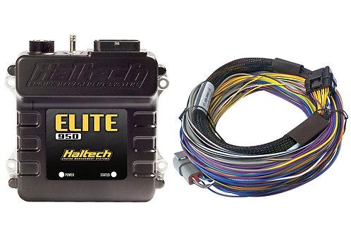 Haltech Elite 950 + Basic Universal Wire-in Harness Kit LENGTH: 2.5m (8')