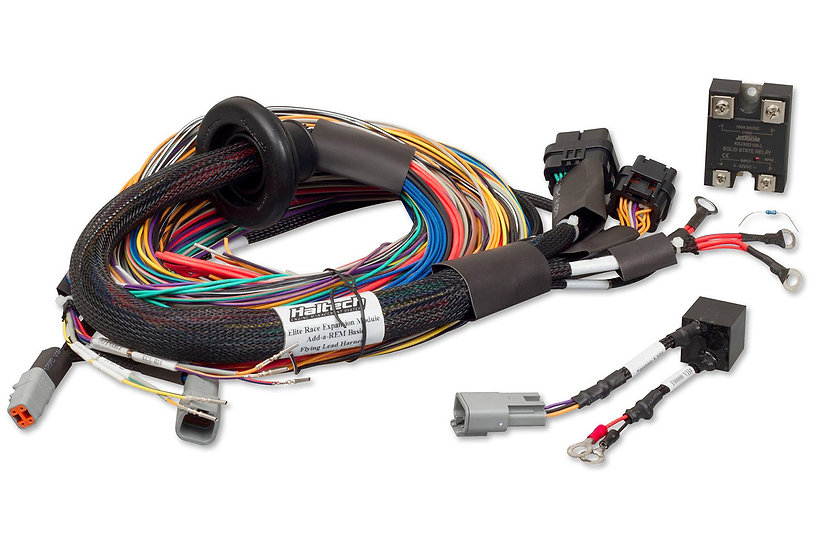 Haltech Elite Race Expansion Module 16Injector Universal Upgrade Wire-in Harness