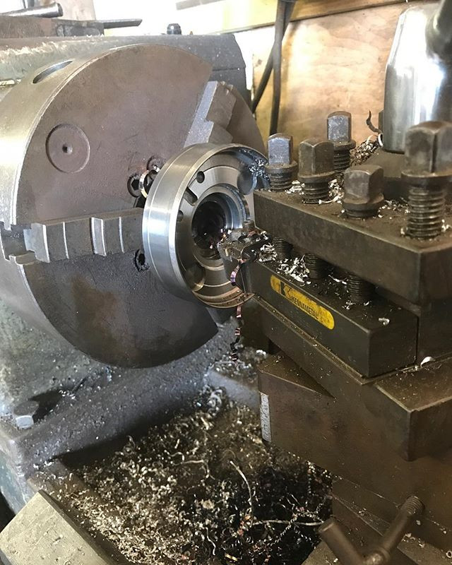 Machining up the diff for the RXV8 of Ma