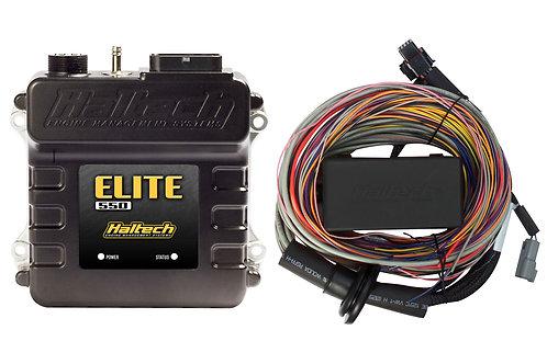 Haltech Elite 550 + Premium Universal Wire-in Harness Kit LENGTH: 2.5m (8')