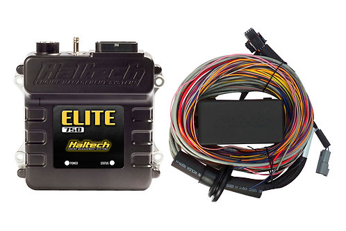 Haltech Elite 750 + Premium Universal Wire-in Harness Kit LENGTH: 2.5m (8')