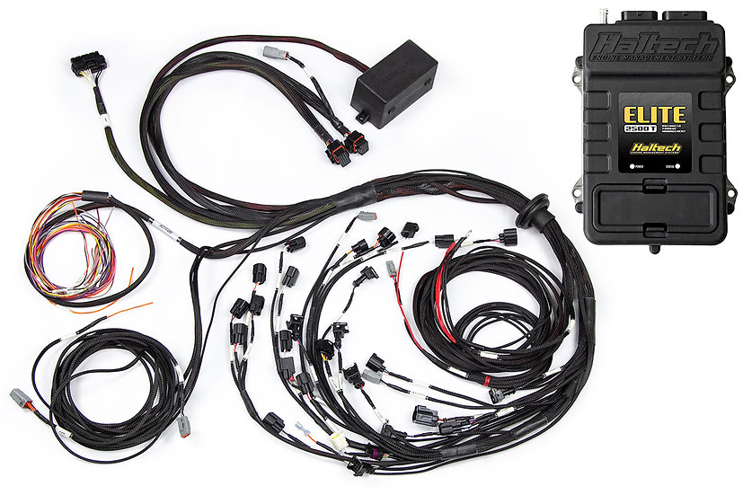 Haltech Elite 2500T + Terminated Harness Kit For Ford Falcon FG Barra 4.0L I6