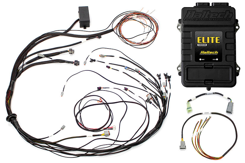 Elite 1000 + Mazda 13B S6-8 CAS with Flying Lead Ignition Terminated Harness Kit