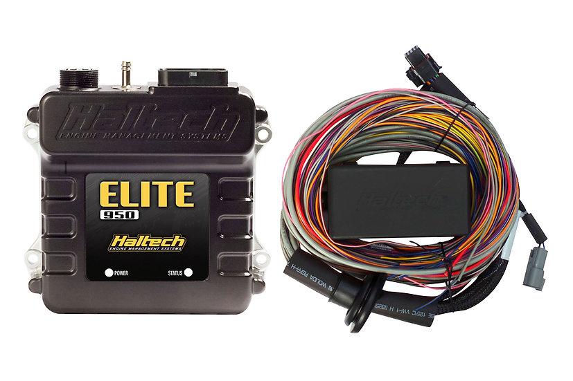 Haltech Elite 950 + Premium Universal Wire-in Harness Kit LENGTH: 5.0m (16')