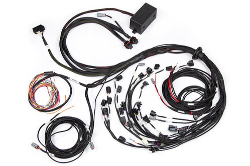 Haltech Elite 2500 Terminated Engine Harness For Ford Falcon BA/BF Barra 4.0L I6