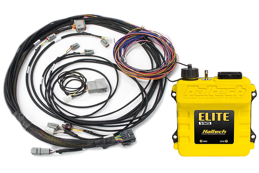 Haltech Elite VMS + Semi-Terminated Harness Kit