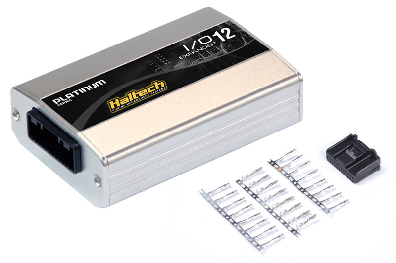 Haltech IO 12 Expander - 12 Channel with Plug & Pins Kit (CAN ID - Box A)