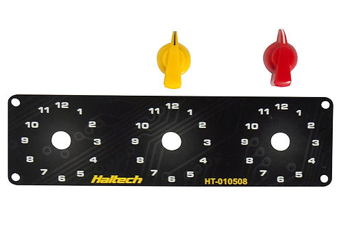 Haltech Triple Switch Panel Only