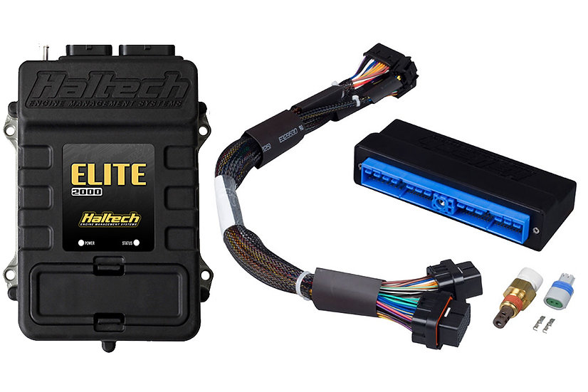 Haltech Elite 2500 + Nissan Patrol Y60 (TB42) Plug 'n' Play Adaptor Harness Kit