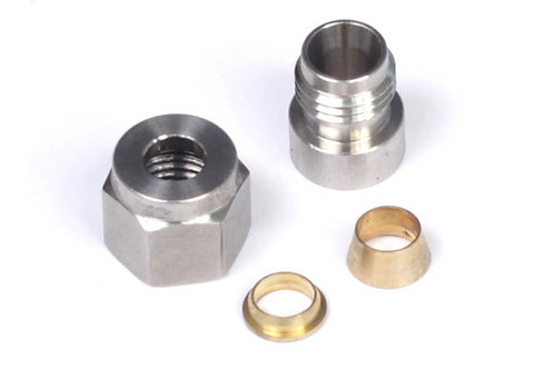 "Haltech 1/4"" Stainless Steel Weld-on Kit"
