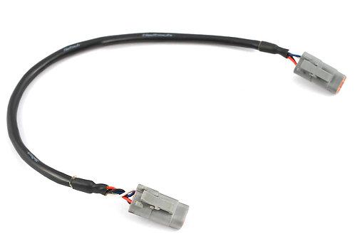 "Haltech Elite CAN Cable DTM-4 to DTM-4 LENGTH: 300mm (12"")"