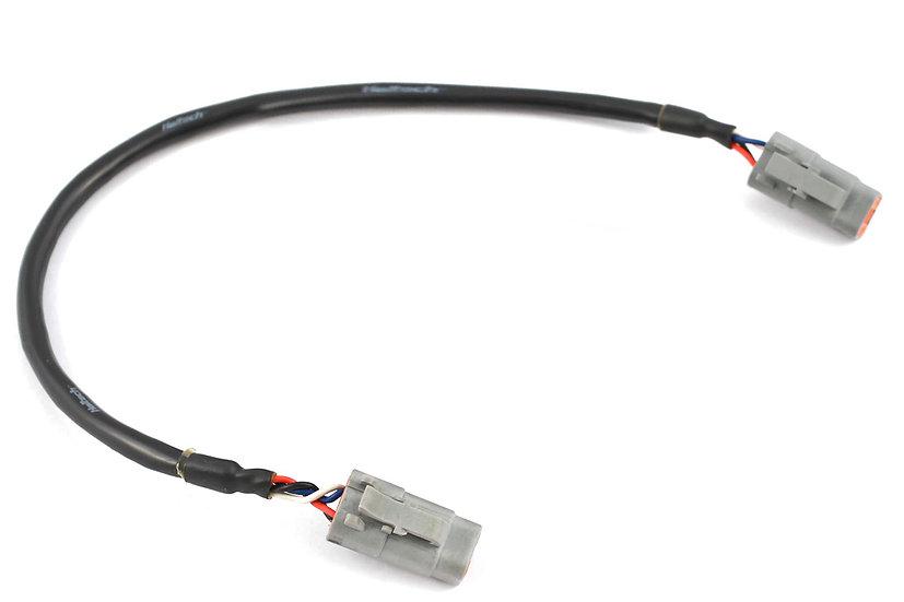 "Haltech Elite CAN Cable DTM-4 to DTM-4 LENGTH: 600mm (24"")"