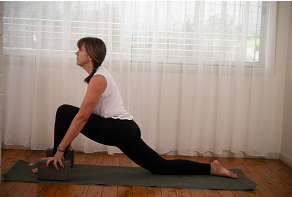 Living Brave Yoga low lunge with props.PNG