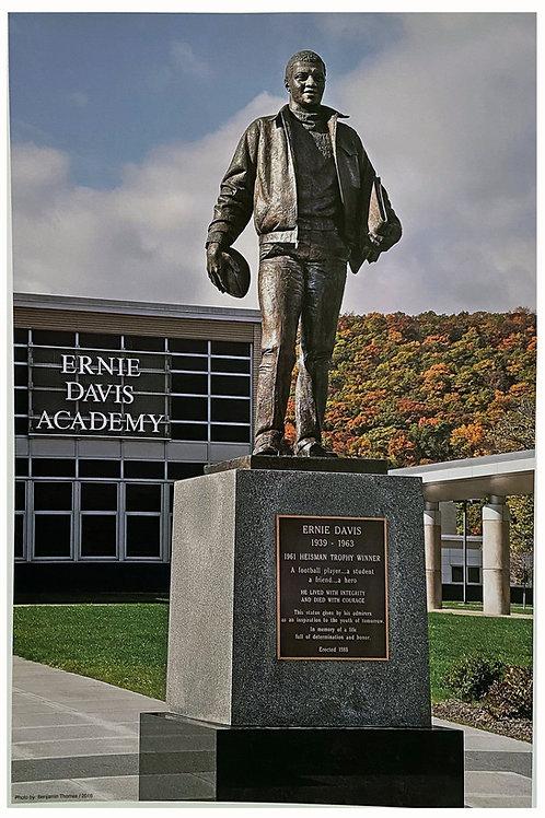 Ernie Davis Statue Print