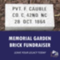 Brick Memorial Fundraiser