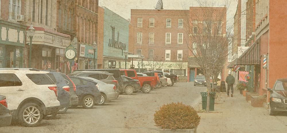 Downtown Owego