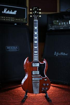 Gibson Custom Shop SG Standard Historicial Reissue w/Maestro Tremolo