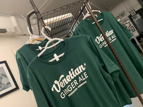 Venetian Ginger Ale Logo T-Shirt