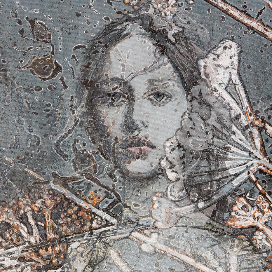 Detail: My sweet Botticellil, 2020