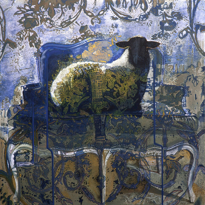 """""""The sheep"""" Bestiaire 2016 (sold)"""