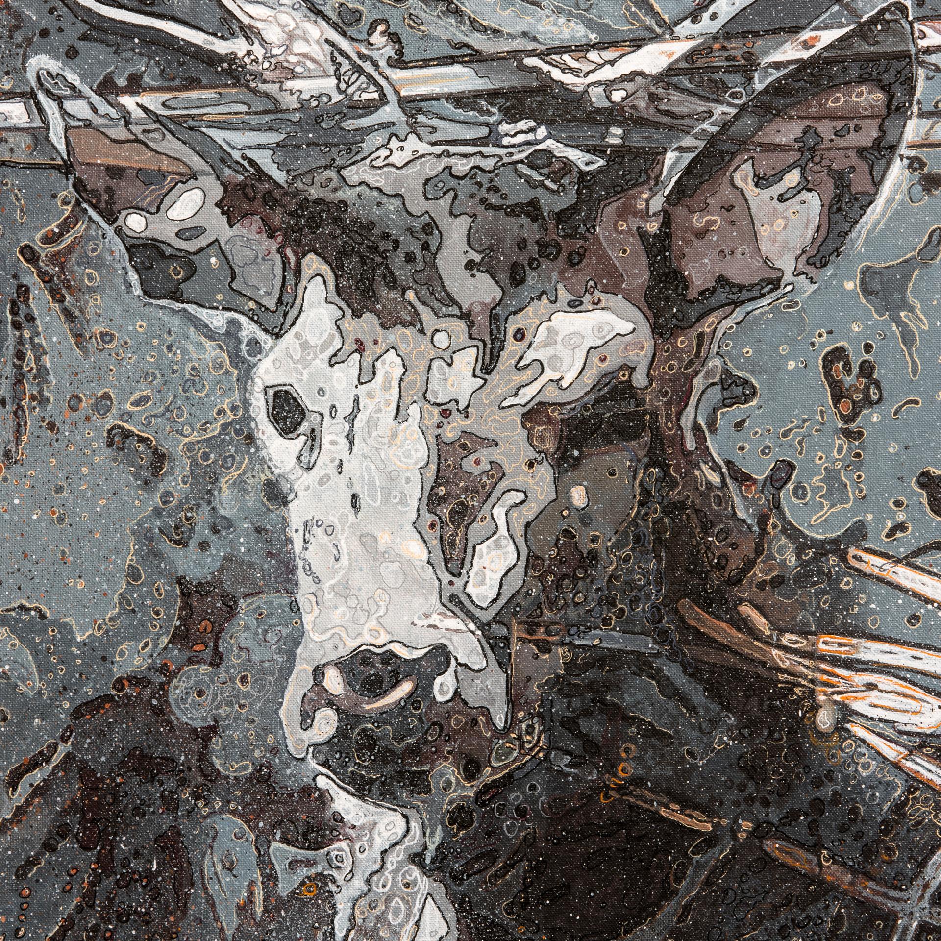 Detail: My sweet Botticelli, 2020