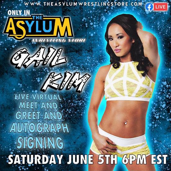 Gail Kim Live Virtual Meet and Greet