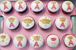 Queen cupcake