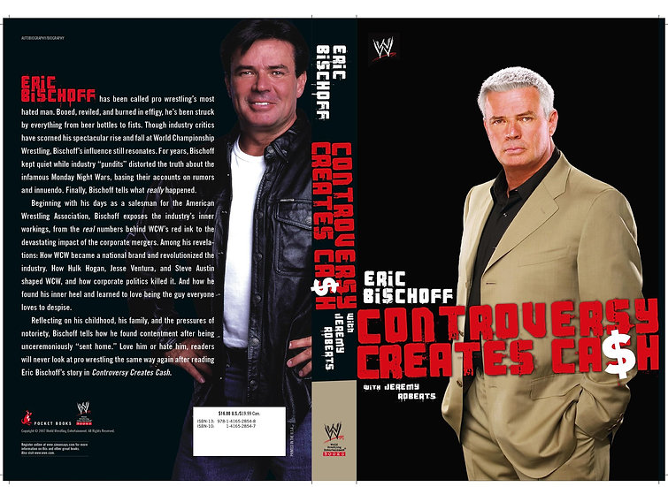 Eric Bischoff paper back signed with meet and greet!!