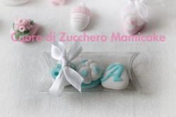 Bomboniera nascita confetti decorati